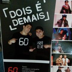 Photo taken at Teatro Monte Calvário by Rogério L. on 1/31/2015