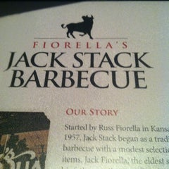 Photo taken at Fiorella's Jack Stack Barbecue by FranCisco V. on 5/9/2013