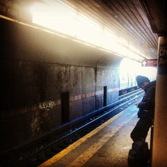 Photo taken at MTA Subway - Church Ave (B/Q) by Janine A. on 3/5/2013