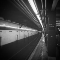 Photo taken at MTA Subway - East Broadway (F) by Lee S. on 6/20/2015