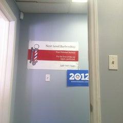 Photo taken at Next Level Barbershop by Don B. on 10/17/2012