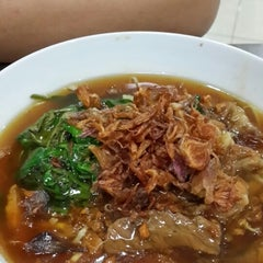 Photo taken at Soto Mie Agih Sukabumi by Lydia S. on 5/1/2014