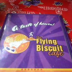 Photo taken at The Flying Biscuit Cafe by David R. on 10/12/2012