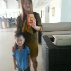 Photo taken at Field Residences Lobby by Sweet Grace G. on 1/8/2013