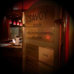 Photo taken at Hotel Savoy Berlin by Markus🦂 on 2/24/2015