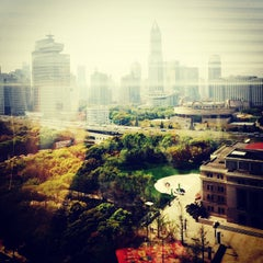 Photo taken at 金钟广场 | Golden Bell Plaza by Jia K. on 4/4/2014