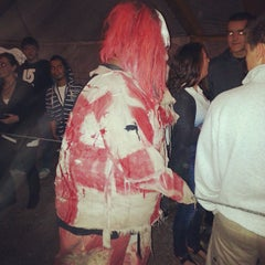 Photo taken at Statesville Haunted Prison by Luis G. on 10/13/2013