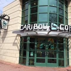 Photo taken at Caribou Coffee by Khalifa A. on 4/8/2014