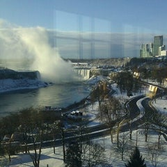 Photo taken at Sheraton At The Falls Hotel by Angele on 1/1/2013