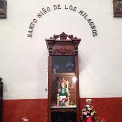 Photo taken at La Parroquia De San Gabriel Arcángel by Dabidson . on 6/10/2014