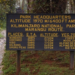 Photo taken at Mount Kilimanjaro by GeziTozu B. on 9/10/2015