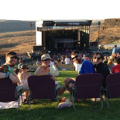 Photo taken at The Gorge Amphitheatre by Eli T. on 8/31/2013