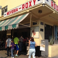 Photo taken at Nevería Roxy by America S. on 4/21/2013