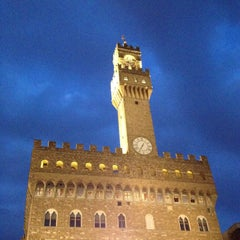 Photo taken at Piazza della Signoria by Marcelle N. on 10/11/2014