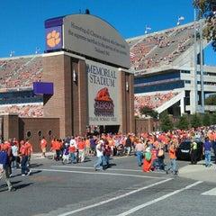 Photo taken at Memorial Stadium by Christen C. on 10/20/2012