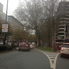Photo taken at Avenue Louis Lepoutrelaan by Julien C. on 11/9/2012