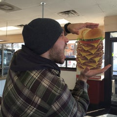 Photo taken at Jake's Wayback Burgers by Andreas B. on 2/3/2015