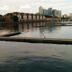 Photo taken at Surrey Docks Watersports Centre by Gyorgy S. on 7/26/2014