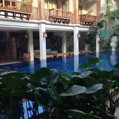 Photo taken at Vieng Mantra Hotel by Matt H. on 3/26/2013
