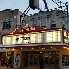 Photo taken at Orpheum Theatre by Mike W. on 10/23/2014