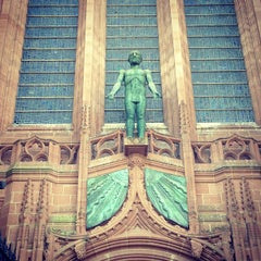 Photo taken at Liverpool Cathedral by Luis V. on 6/25/2013