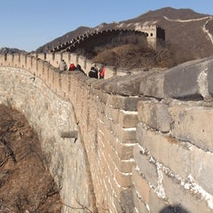 Photo taken at 慕田峪长城 Great Wall at Mutianyu by Peter C. on 12/3/2012