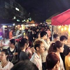 Photo taken at Pasar Malam Taman Connaught 康乐 by Moky on 3/20/2013