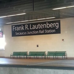 Photo taken at NJT - Frank R. Lautenberg Secaucus Junction Station by Sidney F. on 12/19/2012