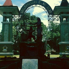 Photo taken at Alun - Alun Banjarnegara by Widhany P. on 1/28/2013