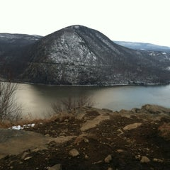Photo taken at Breakneck Ridge by Courtney R. on 1/20/2013