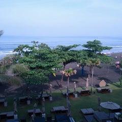 Photo taken at Anantara Seminyak Bali Resort & Spa by Deir T. on 4/7/2013