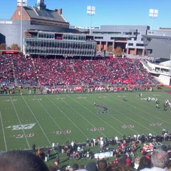 Photo taken at Nippert Stadium by Matt S. on 11/17/2012