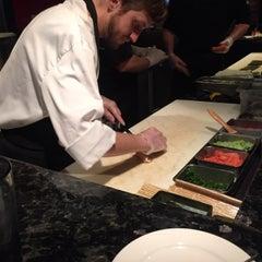 Photo taken at Yosake Downtown Sushi Lounge by Tip I. on 3/23/2015