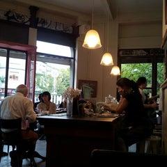 Photo taken at Mill Café by Melina P. on 3/20/2013