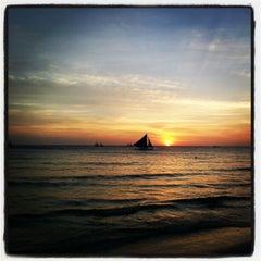 Photo taken at Boracay Sunset Resort by Jedahrico P. on 3/5/2013