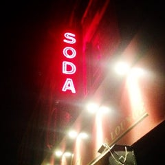 Photo taken at Soda Bar by Anna on 11/30/2012