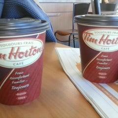 Photo taken at Tim Hortons by Lily M. on 9/24/2013
