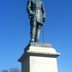 """Photo taken at Thomas """"Stonewall"""" Jackson's Grave by R S. on 11/21/2012"""