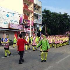 Photo taken at Dataran Shah Bandar Kuala Terengganu by MOHD SABRI A. on 8/31/2013
