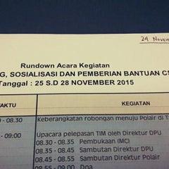 Photo taken at Bank Indonesia by Rifki Arif B. on 11/24/2014