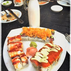Photo taken at Zest Sushi & Tapas Bar by Constance D. on 4/8/2015