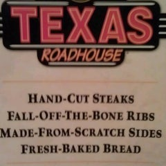 Photo taken at Texas Roadhouse by Melissa H. on 2/19/2013