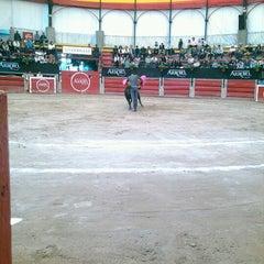 Photo taken at Plaza de Toros Arroyo by Paola A. on 11/24/2012