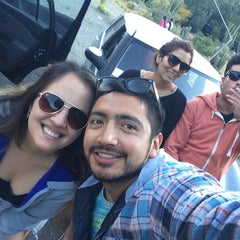 Photo taken at Camping El Sauce by Nati Q. on 10/31/2014