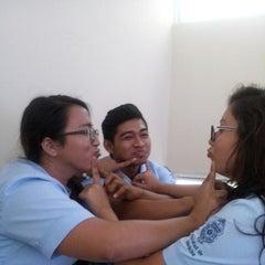 Photo taken at Unidad Universitaria de Rehabilitacion by Gaabeba Fernaanda L. on 8/27/2014