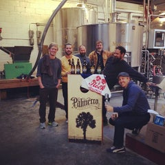 Photo taken at Palmetto Brewing Company by Palmetto Brewing on 3/13/2014