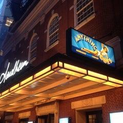 Photo taken at Stephen Sondheim Theatre by Greg B. on 4/25/2012