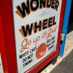 Photo taken at Deno's Wonder Wheel by Ryan K. on 6/15/2012