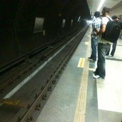 Photo taken at Sanayi Metro İstasyonu by Kivanc K. on 7/27/2012