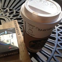 Photo taken at Starbucks by Marcelo M. on 3/1/2012